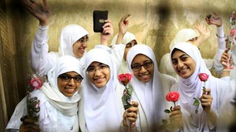 Egyptian women protesters freed