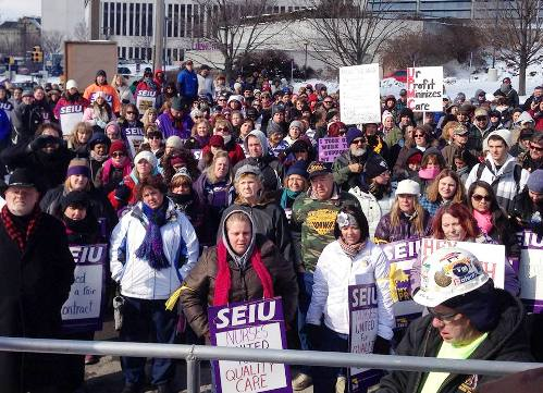 U.S.: Pennsylvania nurses strike for better work, patient care & safety