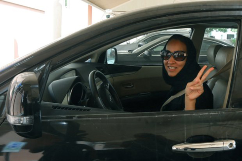 [Saudi Arabia] Manal al Sharif's Liberating Ride