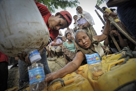 Burma / Myanmar dry zone shows clear climate change impacts