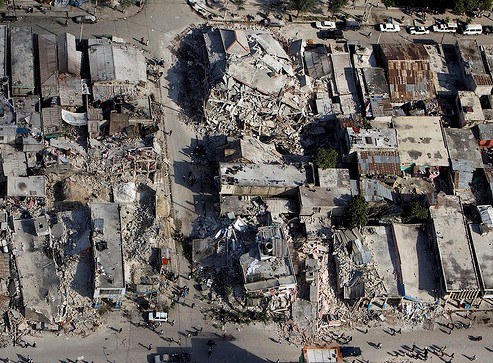 Up-to-date data geocoding helps bring success to Haiti recovery