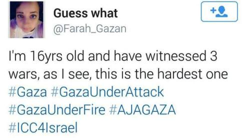 16-year-old Gaza surgeon's daughter tweets into celebrity