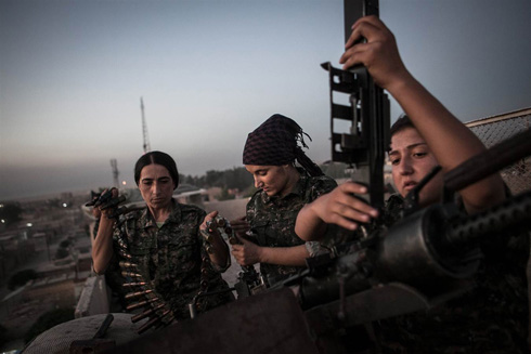 Meet the Kurdish Women Fighting ISIS in Syria