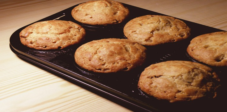 For Breakfast: Apple Cinnamon Muffins