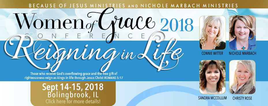 Bolingbrook Illinois Women of Grace Conference Banner