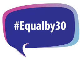 #Equalby30