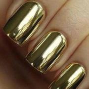 nail art trend mirror