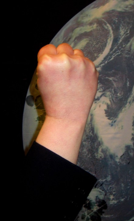 Hand in fist
