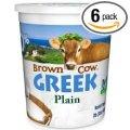 Brown Cow west Plain Smooth Greek Yogurt