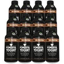 Powerful Yogurt Protein Drink, Greek Yogurt Chocolate, 12 Count