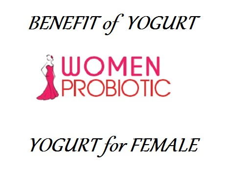 benefit of yogurt female