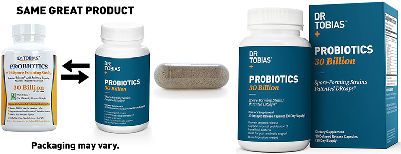 Dr Tobias Probiotics 30 Billion Best For Weight Loss