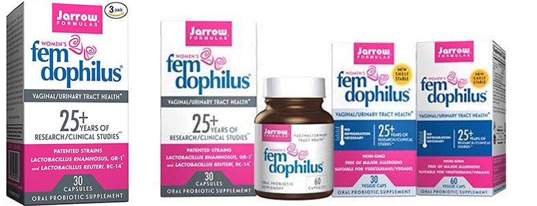 Jarrow Formulas Fem-Dophilus Best for Vaginal Health