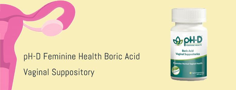 Probiotic Vaginal Suppositories
