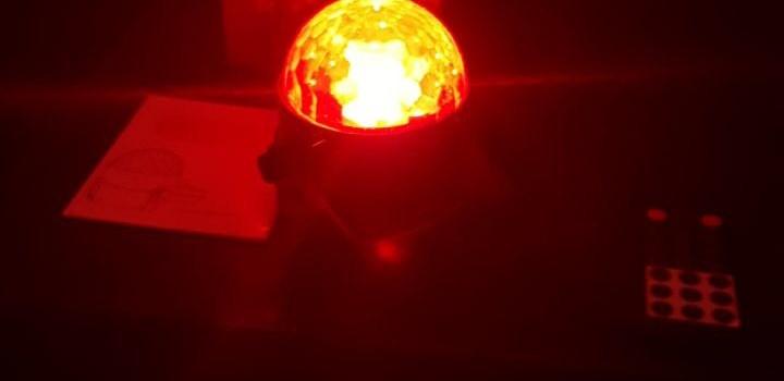 (3.Generation) Disco Lichteffekte, Halloween Party Licht Beleuchtung