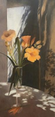 """""""The Shadows,"""" Oil on Canvas, 10""""x20"""""""