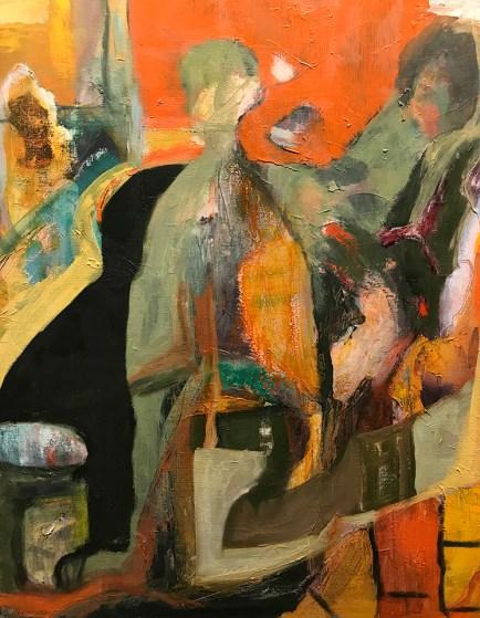 """""""Hopper's Diner Deconstructed,"""" Oil on Linen, 20""""x25"""""""