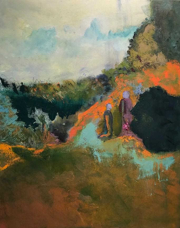 """""""The Journey,"""" Oil on Linen, 16""""x20"""""""