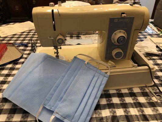 6 members sewed
