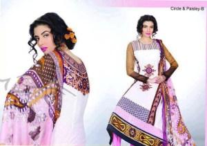 Sana Samia Magnifique Collection 2013 by Lala Textiles 2