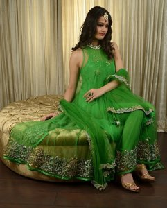 Pakistani Mehndi Dress