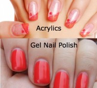 Gel nails vs gel polish - Awesome Nail