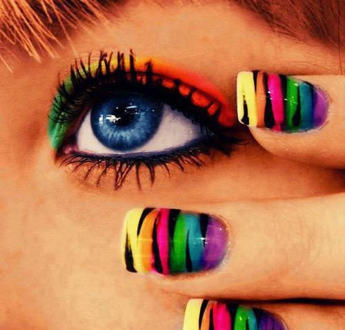 - Get Wild And Crazy With Zebra Nail Designs 01