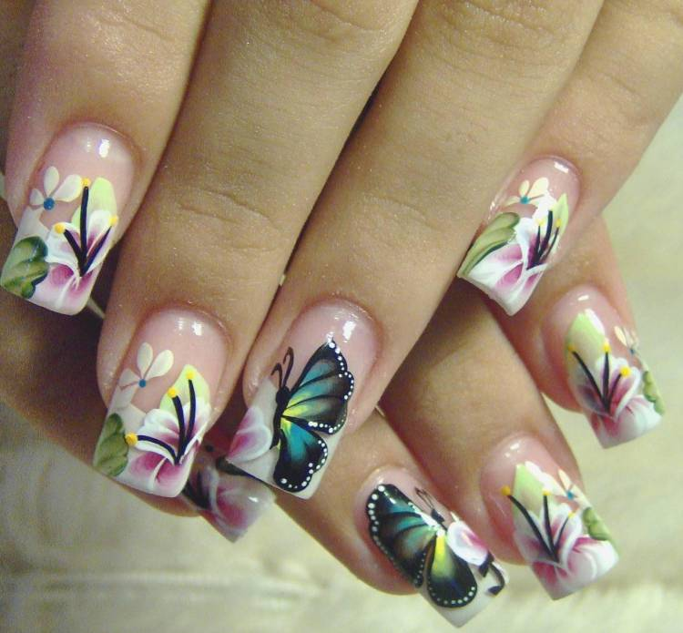 Get wild and crazy with zebra nail designs 10