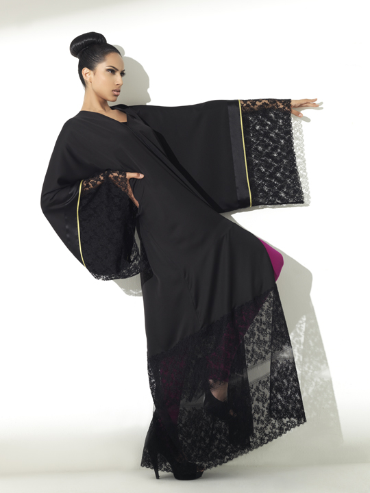Mesmerizing Abaya Designs for Young Girls 13