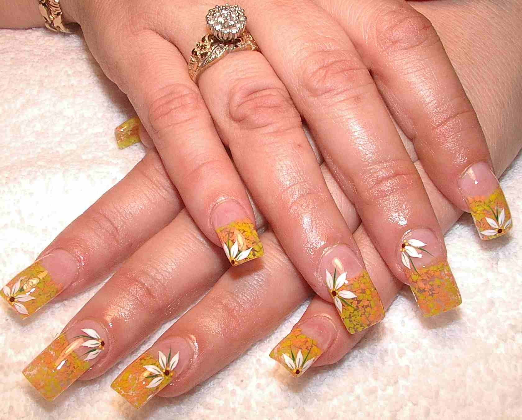 Create Nail Art Using Fake Nail Designs 14