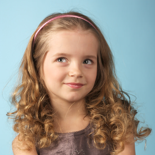Toddlers with Short Curly Hair