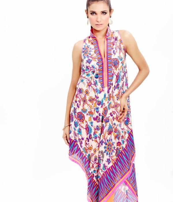 AlKaram Summer Spring Collection 2014, Al Karam Mid Summer Collection