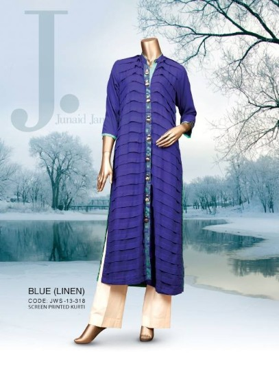 2014 Lawn collection, Junaid Jamshed Kurti Collection