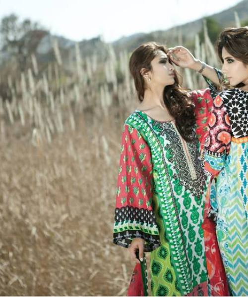 Maria B 2014 Lawn Collection, MARIA.B. Lawn by Reshma Tex 2014
