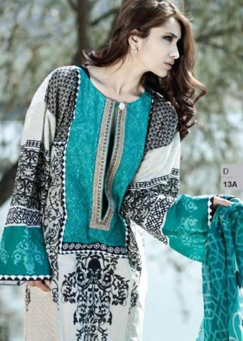 Lawn Collection 2014 catalog, Maria B Winter Collection 2014