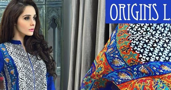 Origins Lawn 2014 Collection, Origins-Ready to Wear Summer Lawn Collection 2014