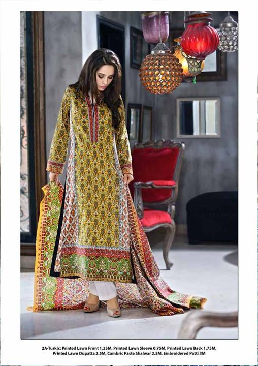 Origins Lawn 2014 for Women, Origins Spring Lawn Collection 2014