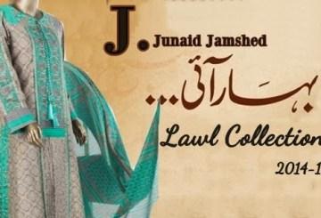 Junaid Jamshed Lawn Prints 2014, Junaid Jamshed Lawn