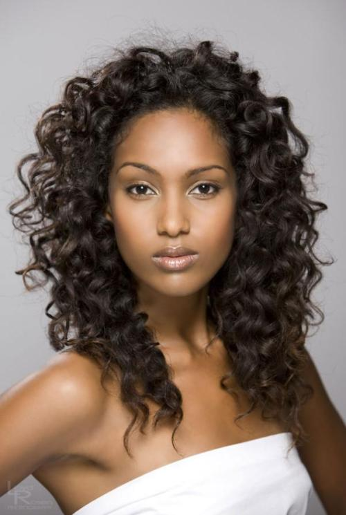 long wavy hairstyles, long curly hairstyles