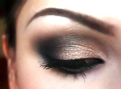 black smokey eye makeup, smokey eye makeup tips