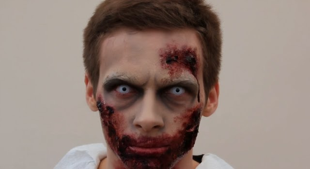 halloween costume ideas for guys, scary halloween makeup ideas