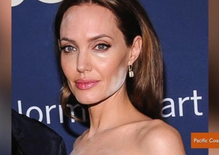 Angelina Jolie makeup disasters, worst celebrity makeup disasters