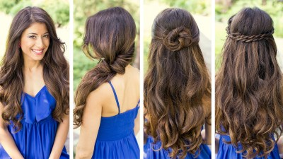 Ideas for beautiful hairstyles for Girls to look Charming
