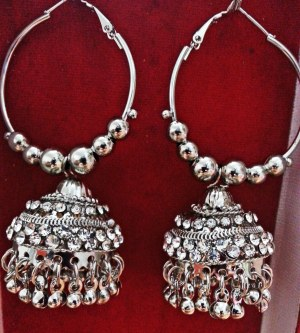 Silver Earrings- A jewelry of great elegance