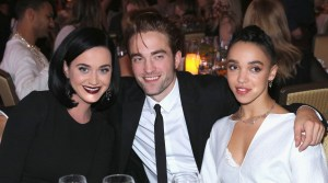 Robert Pattinson Holding a Charismatic Guise