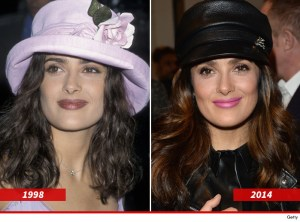 Versatile Celebrity and Fashion icon Salma Hayek