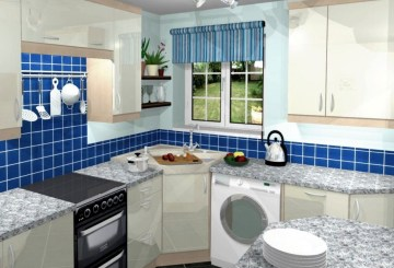Ideas to arrange kitchen in a small house