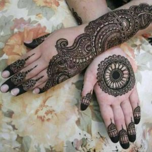 Latest And Top Class Arabic Mehndi Designs