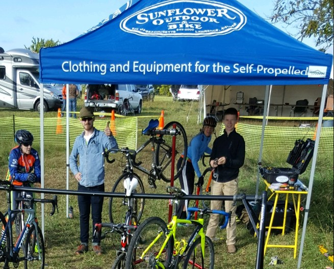 Duncan & Will, the dynamic mechanic duo from our incredible sponsor, Sunflower Outdoor and Bike Shop,