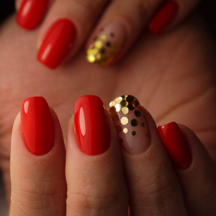 несложный дизайн ногтей 2